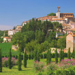 Idyllic Village in Umbria near Assisi — Stock Photo