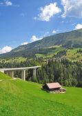 Kleinwalsertal Valley,Vorarlberg,Austria — Stock Photo