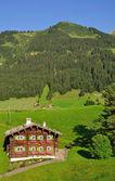 Kleinwalsertal ,Vorarlberg,Austria — Stock Photo