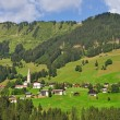 Kleinwalsertal near Hirschegg,Vorarlberg,Austria — Stock Photo