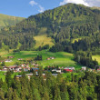 Stock Photo: Village of Riezlern,Kleinwalsertal,Vorarlberg,Austria