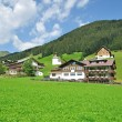 Stock Photo: Village of Baad,Kleinwalsertal,Vorarlberg,Austria