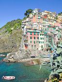 Riomaggiore,Cinque terre,italian Riviera,Liguria,Italy — Stock Photo