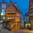 Rothenburg ob der Tauber,Franconia,Bavaria,Germany — Stock Photo