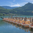 Lake Caldaro,South Tyrol,Italy — Stock Photo