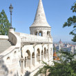 Fishermans Bastion,Budapest,Hungary — Stock Photo