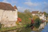 Chablis,Bourgogne,France — Stock Photo