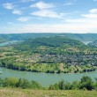 Stock Photo: Rhine River Bow,Boppard,middle Rhine Valley,Germany
