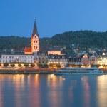 Boppard,Rhine River,Germany — Stock Photo