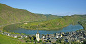 Bremm,Mosel River,Rhineland-Palatinate,Germany — Stock Photo