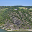 Loreley Rock at Rhine River,Germany — Stock Photo