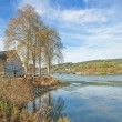 Reservoir Lake Listerstausee,Sauerland,Germany — Stock Photo