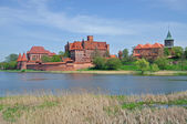 Malbork,East Prussia,Poland — Stock Photo