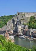 Dinant,belgian Ardennes,Belgium,Benelux — Stock Photo