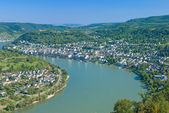 Boppard,Rhine River,Germany — Stock Photo