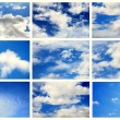 Sky daylight collection — Stockfoto