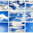 Stock Photo: Sky daylight collection