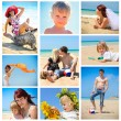 Summer collage — Stock Photo #12054545