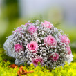 Close up of wedding bouquet — Stock Photo