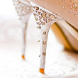 Stock Photo: Wedding shoes