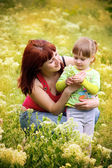 Mum and daughter — Stock Photo