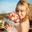 Stock Photo: Portrait of bride