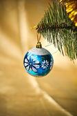 Christmas ornaments — Стоковое фото