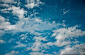 Sky daylight collection. Natural sky composition. — Stock Photo