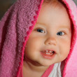 Stock Photo: Baby after bath