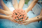 Wedding flowers bouquet — Stock fotografie