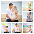 Collage of pregnant — Stock Photo #29697247