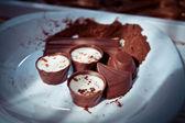 Chiudere il colpo della scatola di cioccolatini — Foto Stock