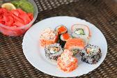 Sushi Set - Maki Sushi — Stockfoto