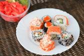 Sushi Set - Maki Sushi — Stock Photo