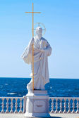 Apostle Andrey Pervozvanny monument,Sevastopol . Crimea — Stock Photo