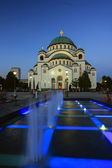St Sava temple in Belgrade, Serbia — Stock Photo