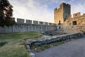 Tower in Kalemegdan fortress in Belgrade, Serbia — Stock Photo