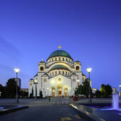 St Sava temple in Belgrade, Serbia, square format — Stock Photo