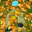 Autumn clothing — Stock Photo