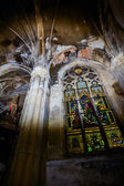 Cathedral ceiling — Stock Photo