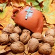 Religious autumn detail — Stock Photo #27677175