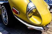 Details on vintage car — Stock Photo