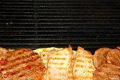 Tasty grill — Stock Photo