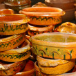 Handcraft pottery — Stock Photo