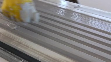 Moulding profile — Stock Video