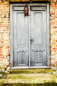 Old entrance door — Stock Photo