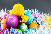 Traditionelle art der dekoration eier — Stockfoto