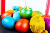 Easter wisdom for cooking Easter eggs — Stock Photo
