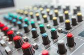 Sound board — Stock Photo