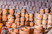 Freshly baked pottery — ストック写真
